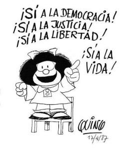 Mafalda democrazia